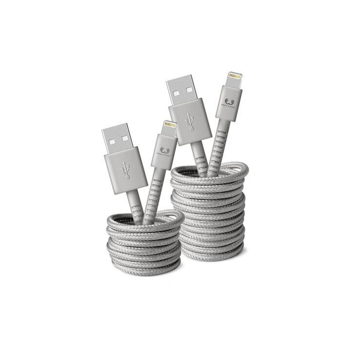 FRESH 'N REBEL Kabel (USB Typ-A, Lightning, 1.5 m)