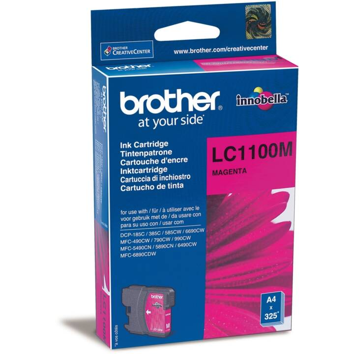 BROTHER LC-1100M  (Magenta, 1 Pièce)