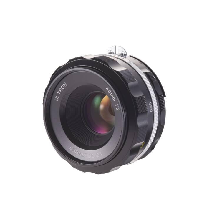 VOIGTLÄNDER Festbrennweite Ultron 40mm / 2.0 asph. SLII-S