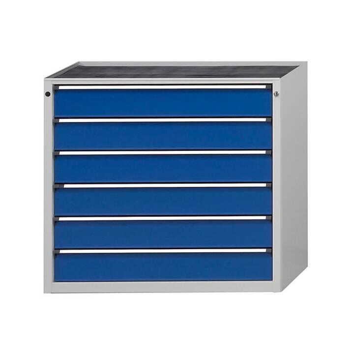 ANKE Tiroir armoire (Gris, Bleu)