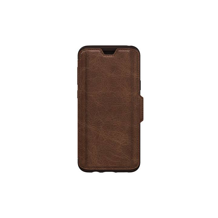 OTTERBOX Flipcover Strada (Galaxy S9 Plus, Braun)