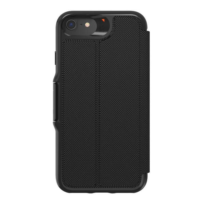 GEAR4 Flipcover Oxford Eco (iPhone SE, iPhone 8, iPhone 7, iPhone 6s, iPhone 6, Schwarz)