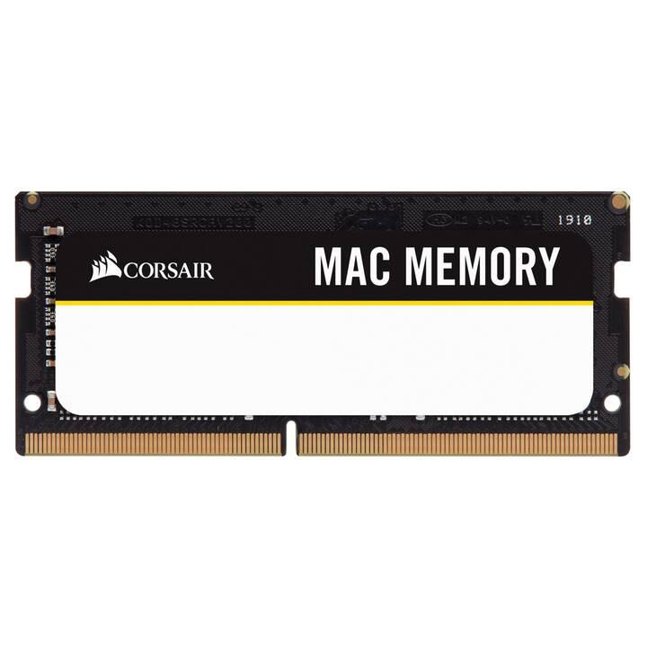 CORSAIR CMSA64GX4M2A2666C18 (2 x 32 Go, DDR4-SDRAM, SO-DIMM 260-Pin)
