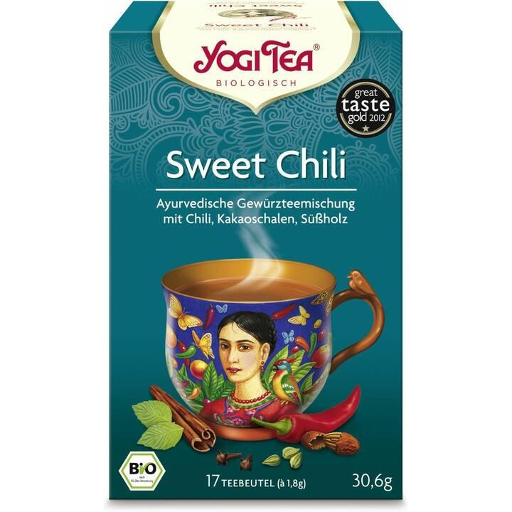 YOGI TEA Sweet Chili Mexican Spice Tè condito (Bustina di tè, 17 pezzo)