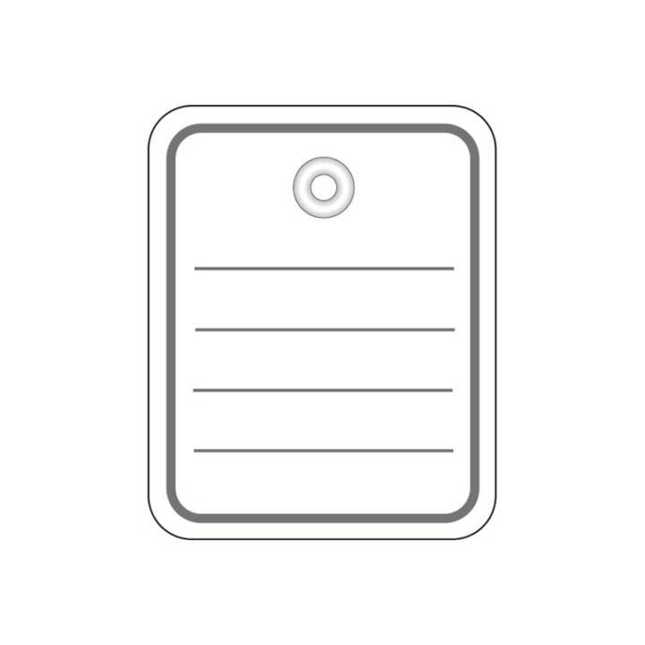Etiquette HERMA 40x50 mm avec œillet 1000 pièces