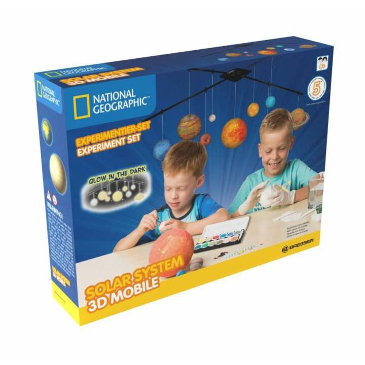 NATIONAL GEOGRAPHIC Experiment Box GEOGRAPHIC Sistema Solare Mobile