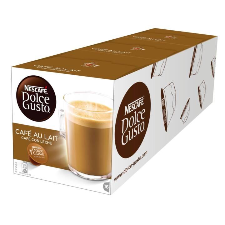 NESCAFÉ Capsules de Café Dolce Gusto Caffè latte (3x 16 Pièce)
