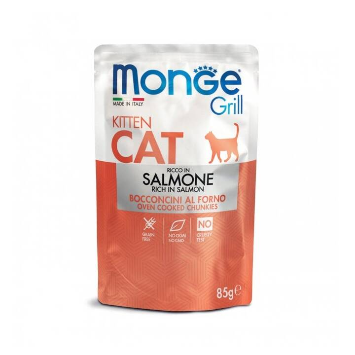 MONGE Cibo umido (Junior, 85 g, Salmone)