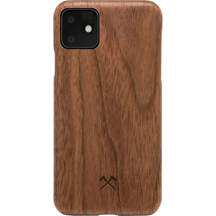 WOODCESSORIES Backcover EcoCase Slim Walnuss Brown (iPhone 11 Pro Max)