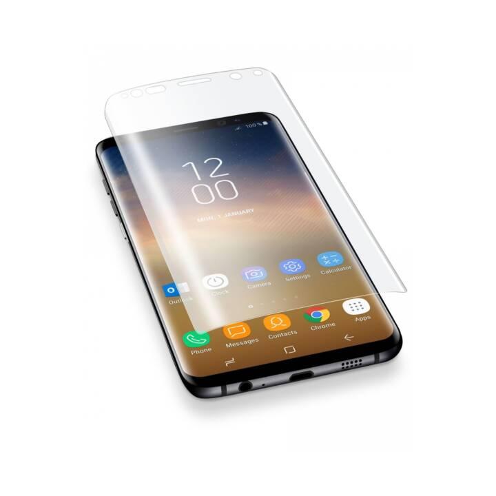 CELLULAR LINE SPCURVEDGALS9PL Film de protection d'écran pour Galaxy S9+.