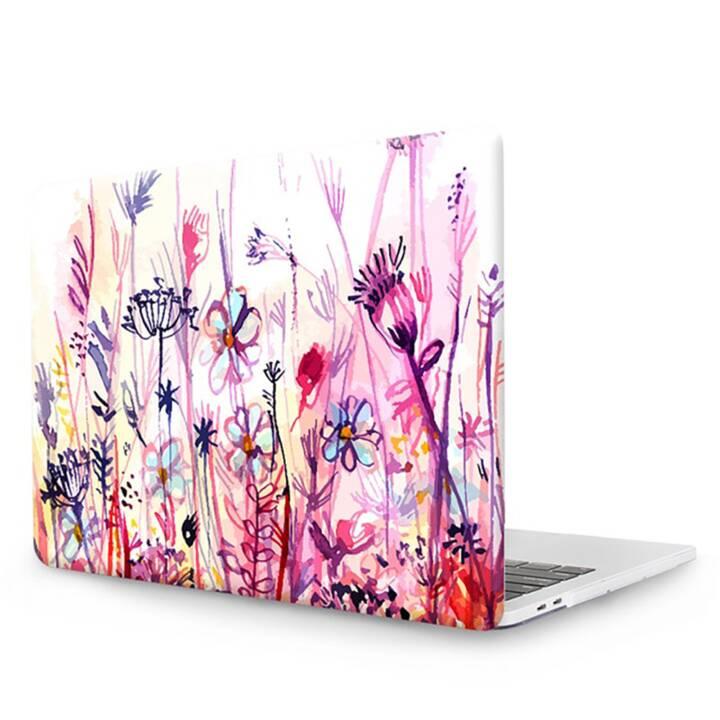 """EG MTT Copertina per computer portatile con tastiera, protezione antipolvere, penna a sfera per MacBook 12"""" Retina - Pink Flowers"""