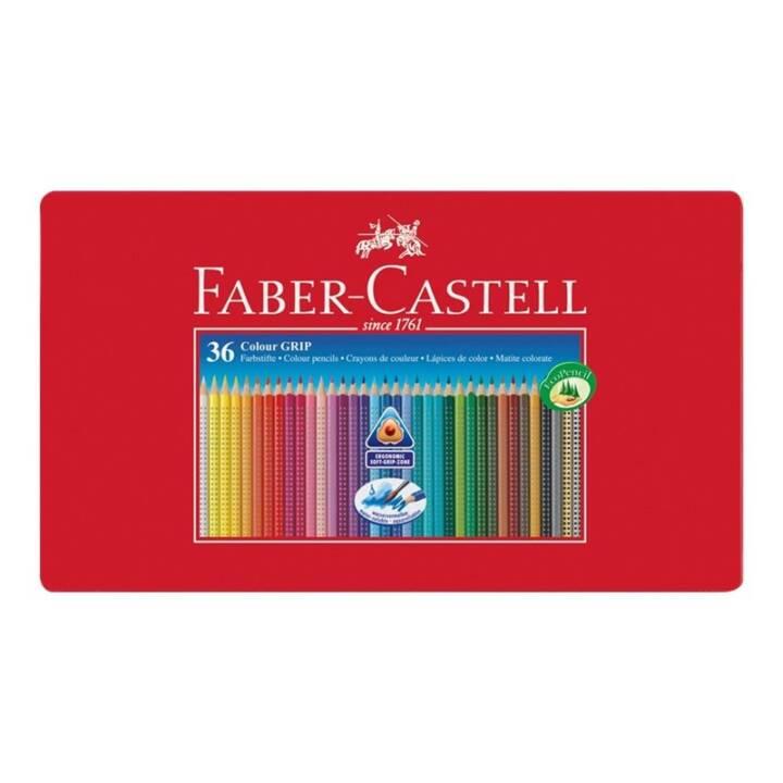 Crayons de couleur FABER-CASTELL COLOUR GRIP 36 pièces