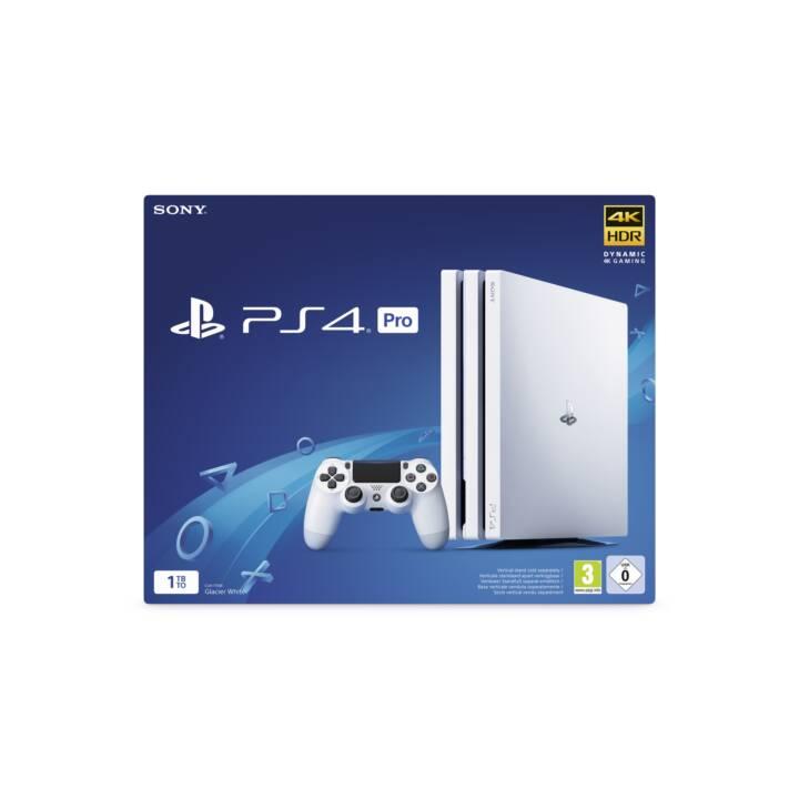 SONY Playstation 4 Pro 1 TB Glacier White PEGI 3+ (Version DFI)