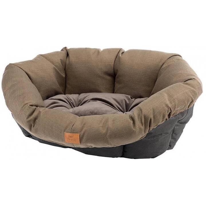 FERPLAST Cucce per cani Cushion 4 Tweed (Marrone)