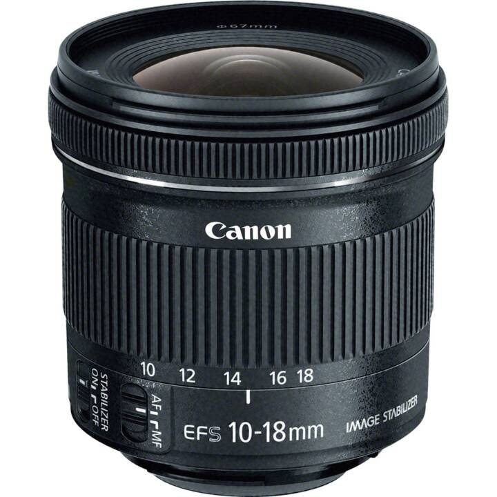 CANON EF-S 10 - 18 mm f/4.5 - 5.6 IS STM