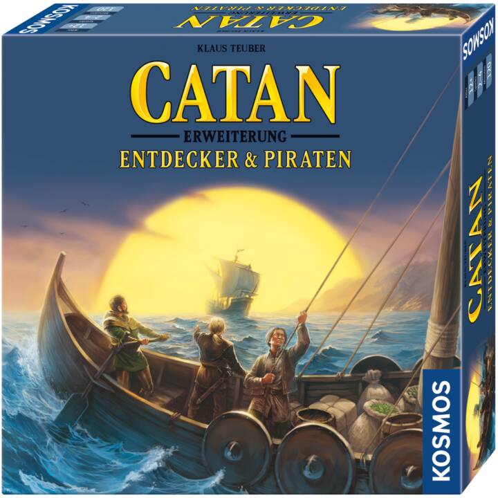 KOSMOS Catan: Entdecker & Piraten Gioco di strategia