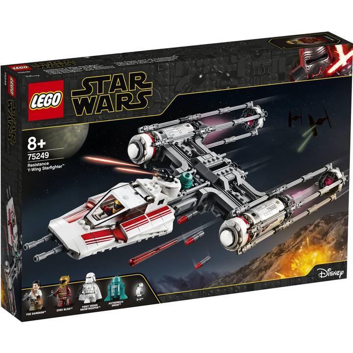 LEGO Star Wars Y-Wing Starfighter de la Résistance (75249)