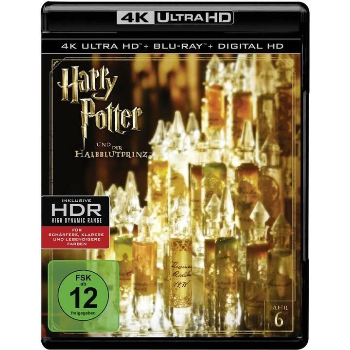 Harry Potter und der Halbblutprinz (4K Ultra HD, PL, ES, IT, PT, DE, NL, EN, FR)