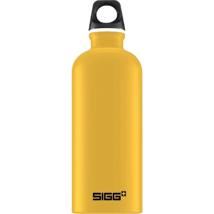 SIGG Borraccia Lucid Mustard Touch (0.6 l, Giallo)