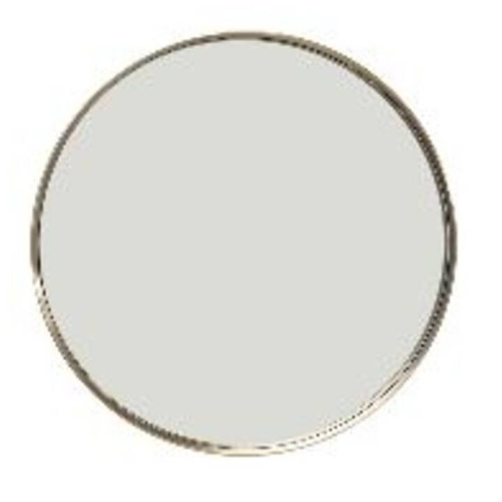 KARE Curve MO Brass Wandspiegel (60 cm x 60 cm)