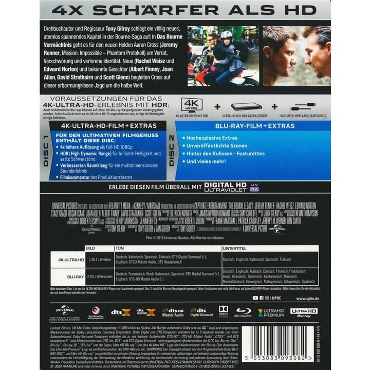 Das Bourne Vermächtnis (4K Ultra HD, ES, IT, DE, TR, EN)