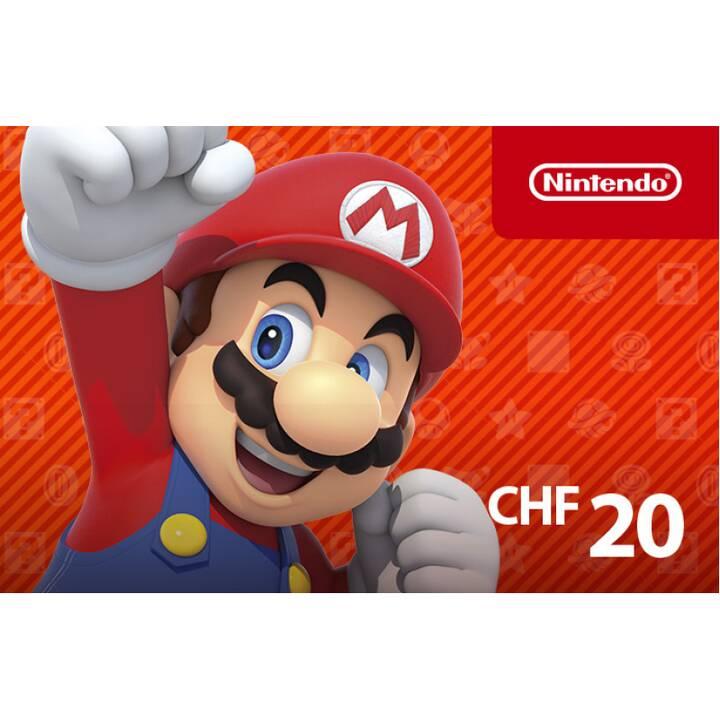 E-Shop Code CHF 20 (ESD)
