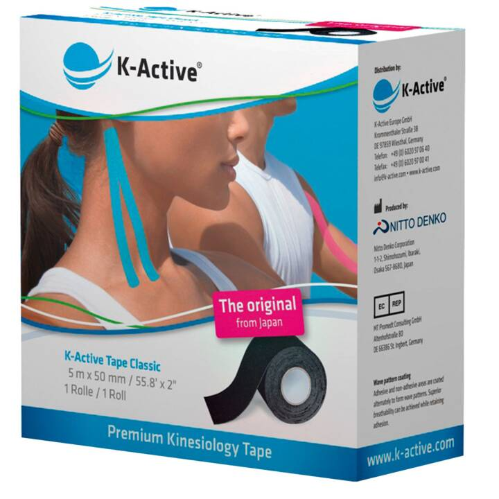 K-ACTIVE Classic Kinesiologisches Tape (1 Stück)