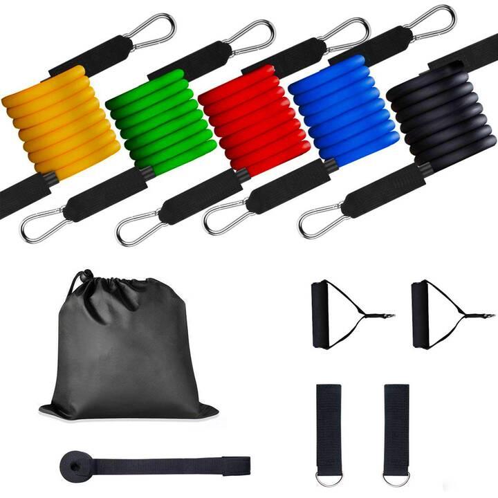 EG Fitness Widerstandsbänder 1 Set 11-tlg