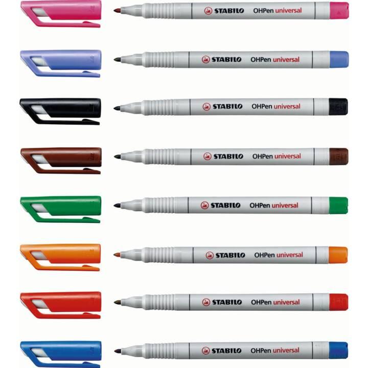 STABILO Non-Permanent OHP-Pen, 1 mm, Blau