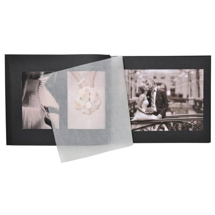 EXACOMPTA Harmony Fotoalbum (Schwarz, 370 mm x 290 mm)