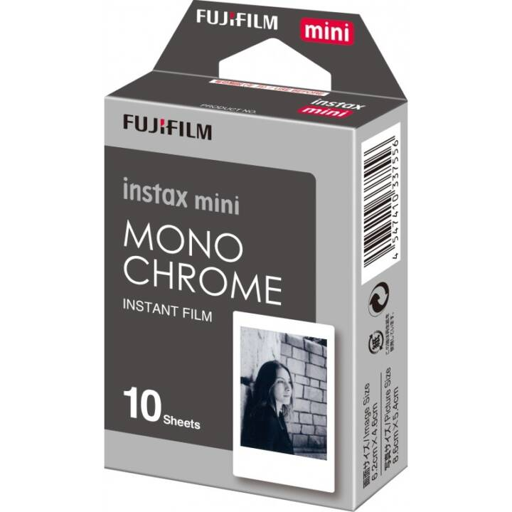 FUJIFILM Instax Mini Monochrome Instant Review, 10 pz.