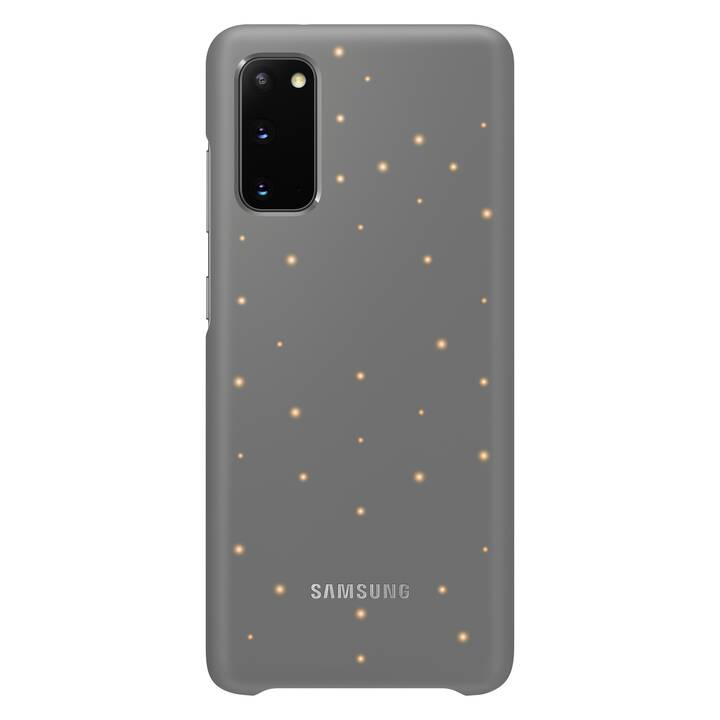 SAMSUNG Backcover H-Cover LED (Galaxy S20, Nero)