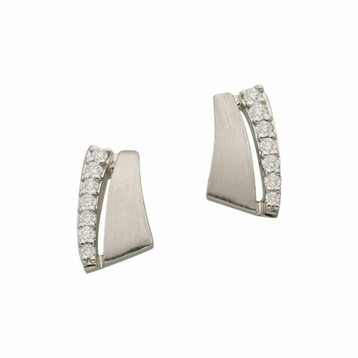 MUAU Clous d'oreilles (Diamant, 9 mm)
