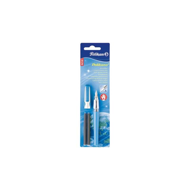 PELIKAN penna stilografica Pelikano, A, blu