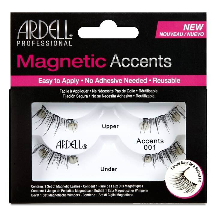 ARDELL Magnetic Strip Lash Accent 001 (1 Paar)