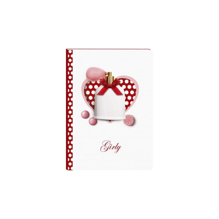 CLAIREFONTAINE Notizbuch Girly (A5, Liniert)
