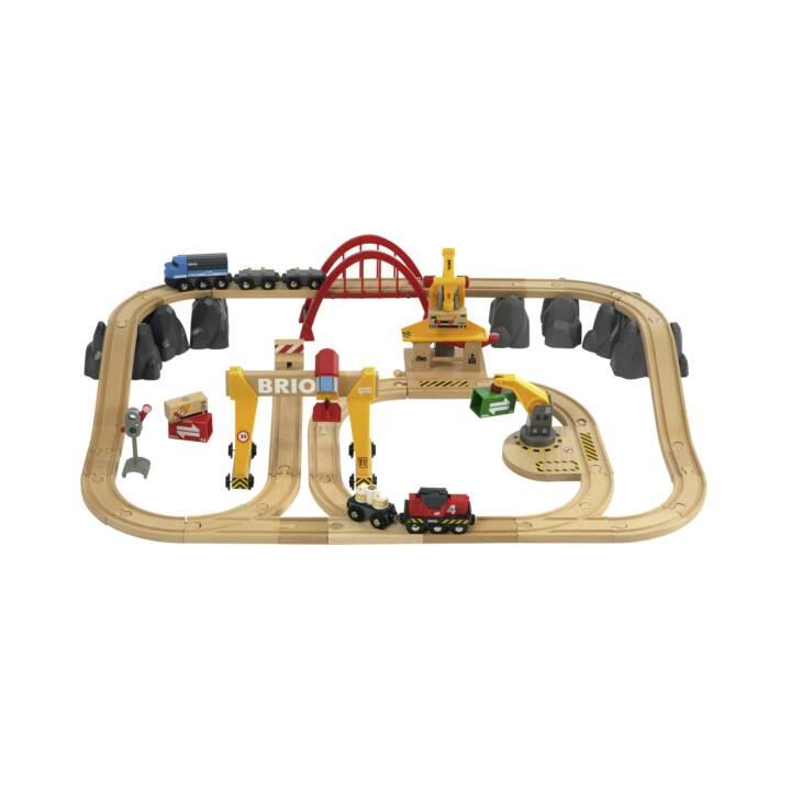 BRIO Rail Freight Set Deluxe