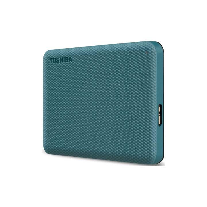 TOSHIBA Canvio Advance (USB 3.2, 4 TB, Grün)