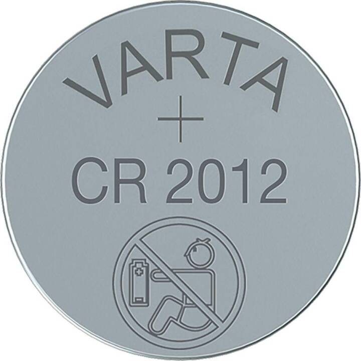 VARTA Batterie (CR2012, 1 Pièce)
