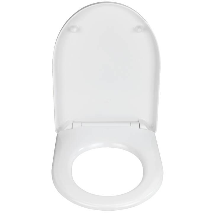 WENKO Sedile per WC Exclusive (Bianco)