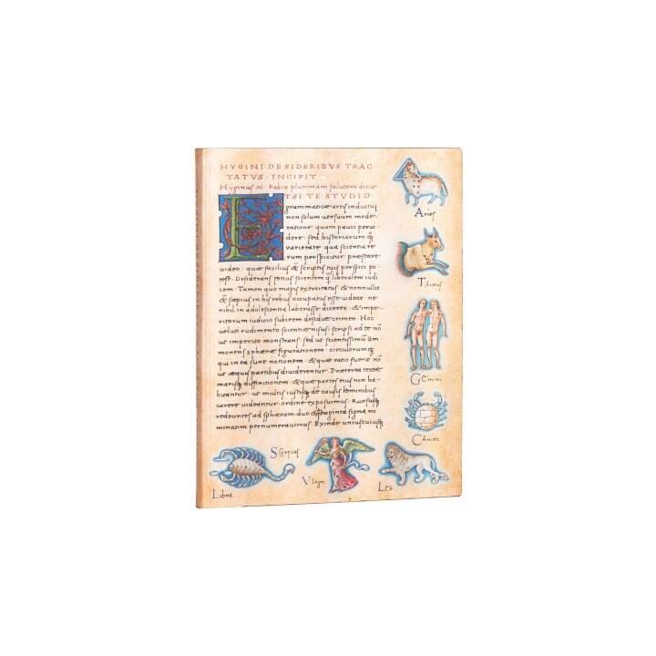 PAPERBLANKS Carnets Flexis Astronomica Ultra (17.5 cm x 22.5 cm, Ligné)