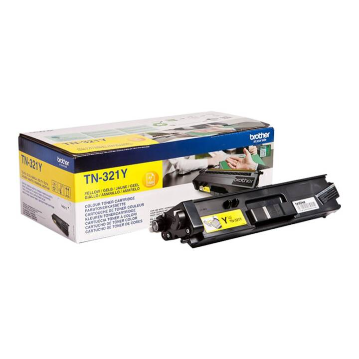 BROTHER TN-321Y  (Toner seperato, Giallo)