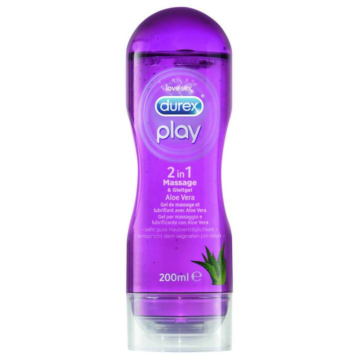 DUREX Gleitmittel Play (200 ml, Wasserbasis, Aloe Vera)