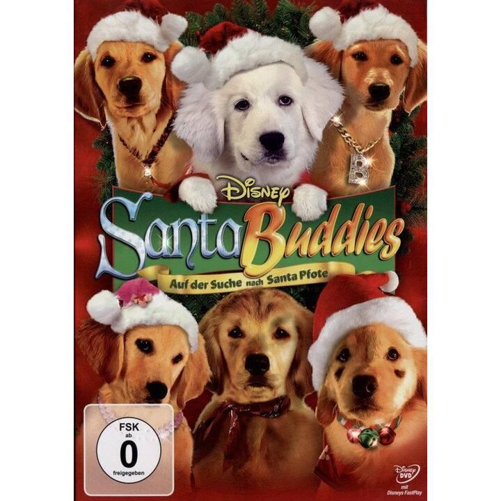 Santa Buddies - Auf der Suche nach Santa Pfote (EN, DE, TR, IT)