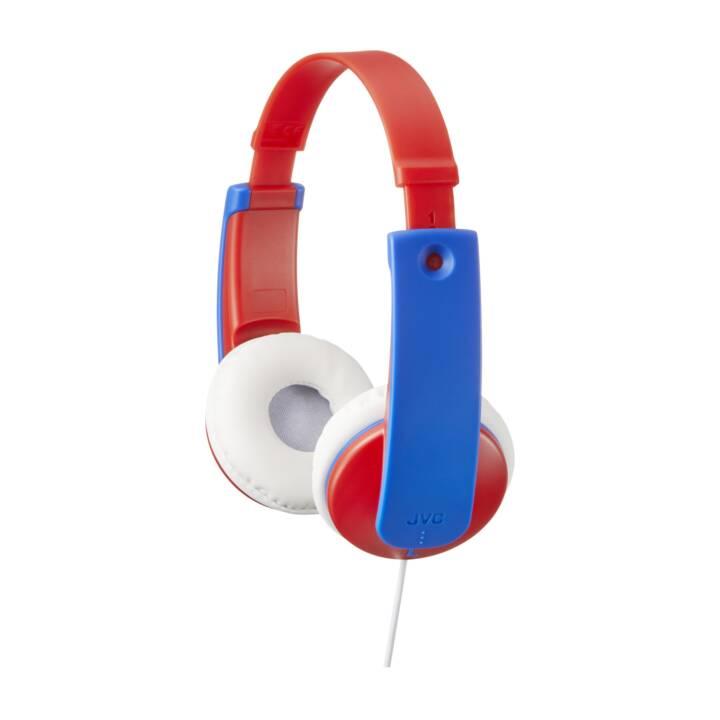 JVC Tinyphones HA-KD7 Red/Blue
