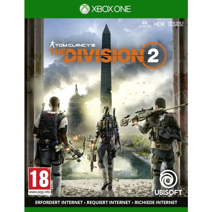 La division 2 (DE/EN/FR/IT)