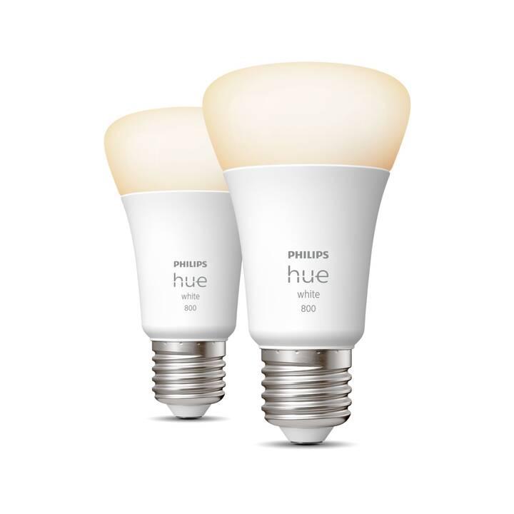 PHILIPS HUE LED Birne (E27, Bluetooth, ZigBee, 9 W)