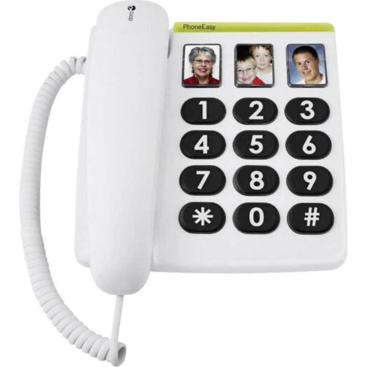 DORO PhoneEasy 331ph (Blanc)
