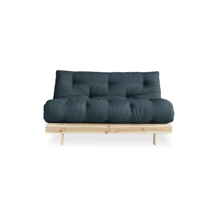 KARUP DESIGN Roots 140 Canapé-lit (Coton, Polyester, Petrol, 140 cm x 108 cm)