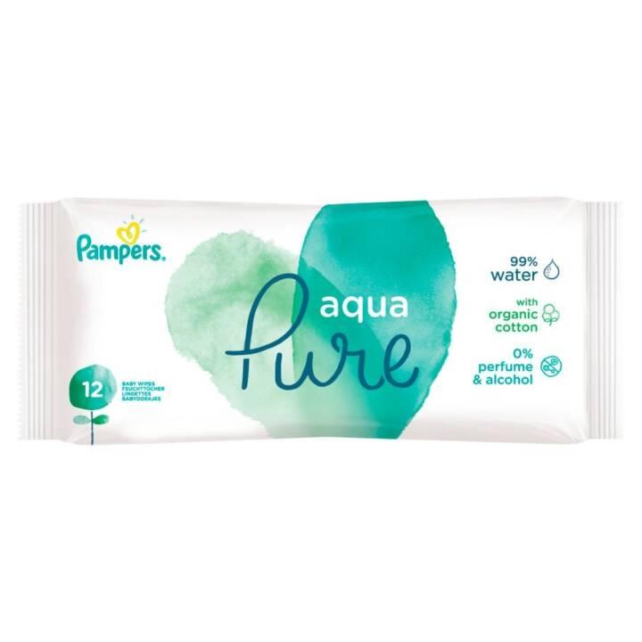 PAMPERS lingettes humides Aqua Travel Pack